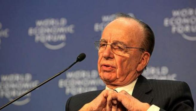 Rupert Murdoch, propietario de News Corporation.