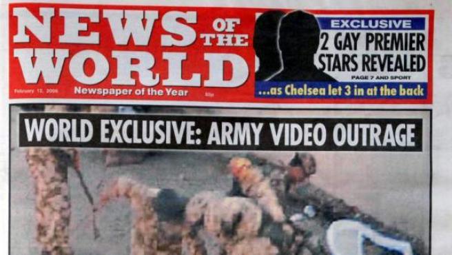 Una de las exclusivas de 'News of the World' publicada en 2006.