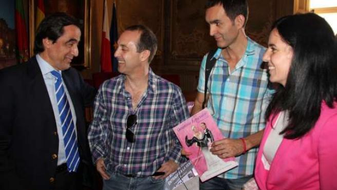 Ildefonso Calderón Y Jorge Roelas, Juan Carlos,Y Berta Pacheco