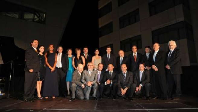 Foto Familia Premiados Excelencia Galega, AEGA-CAT