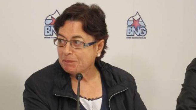 Olaia Fernández Davila, Diputada Del BNG En El Congreso