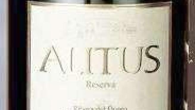 Botella Del Vino Alitus Reserva 2003, De Bodegas Balbas