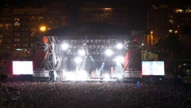 Imagen De La Edición De 2010 Del Arenal Sound