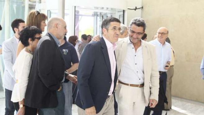 El Lehendakari, Patxi López, A Su Entrada Al Comité Federal Del PSOE