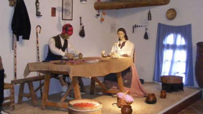 Muestra De Recreación En El Museo Del Azafrán