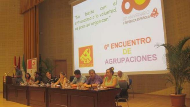 Encuentro De Agrupaciones Del PCA En Sevilla
