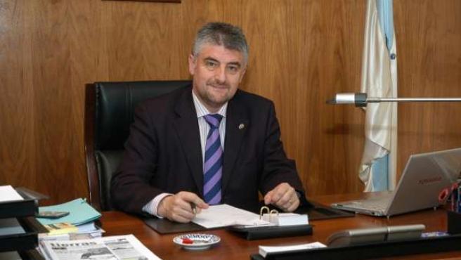 El presidente de la Fegamp, Carlos Fernández