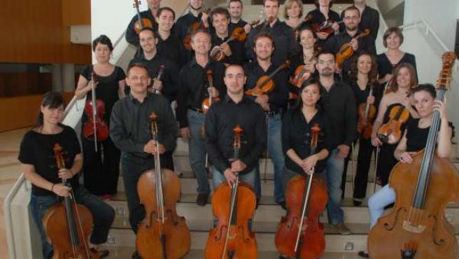 Sección De Cuerda De La Orquesta Sinfónica De Murcia