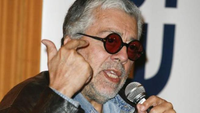 El cantautor argentino Facundo Cabral, en una imagen de archivo.