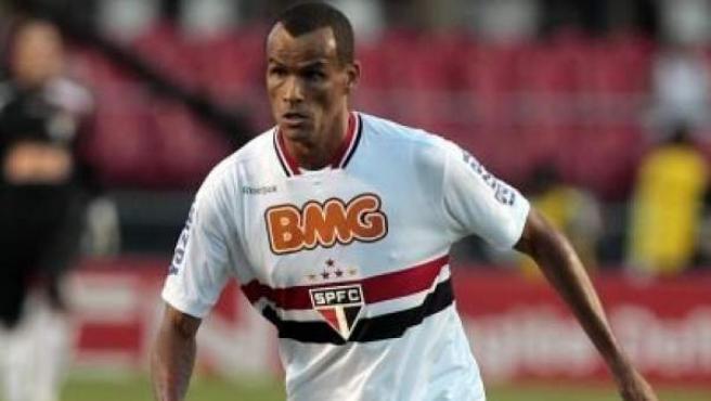 Rivaldo, delantero del Sao Paulo, en una imagen de archivo.