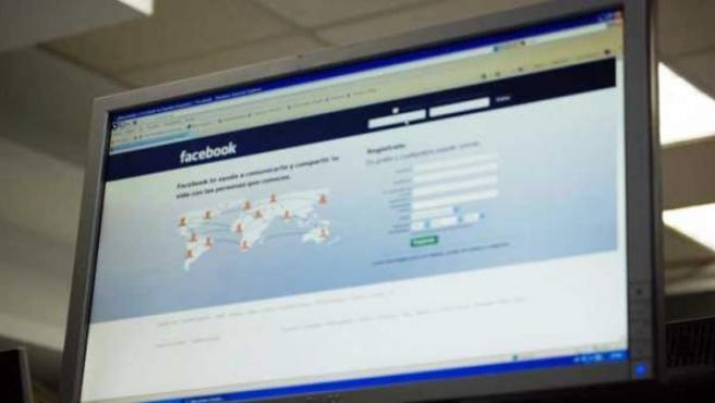 Página principal de Facebook.