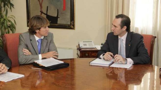 El Presidente De SEBIME, José Manuel Moreno, Se Reúne Con José Ramón Bauzá