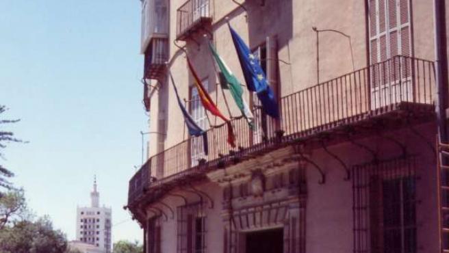 Fachada De La Cámara De Comercio De Málaga