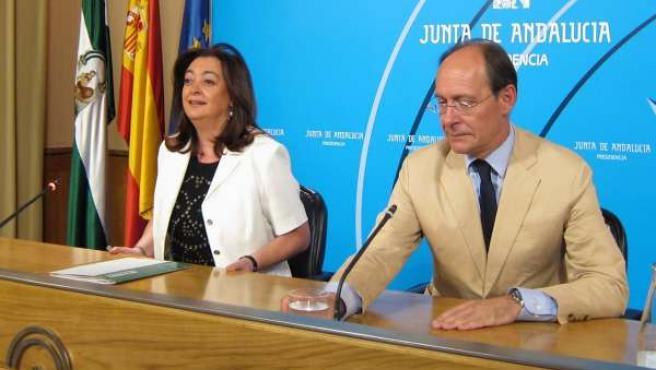 Moreno Y Díaz Trillo, Este Martes En Rueda De Prensa