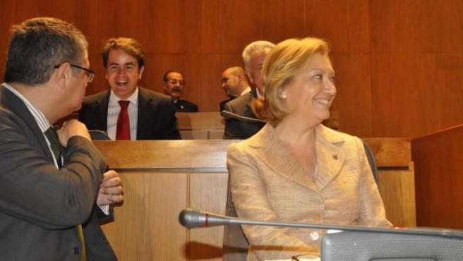 La Candidata Del PP A La Presidencia De Aragón, Luisa Fernanda Rudi