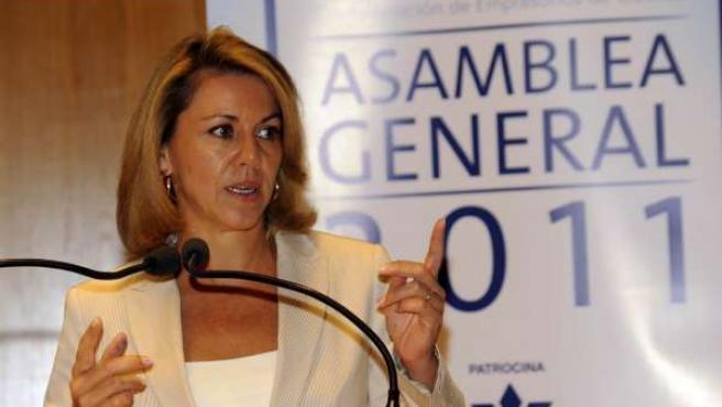 Cospedal, En La Asamble De CEOE Cuenca
