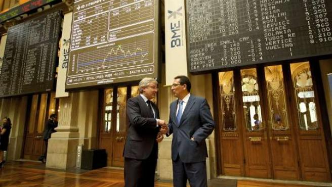 Presentación De Banca Cívica En La Bolsa