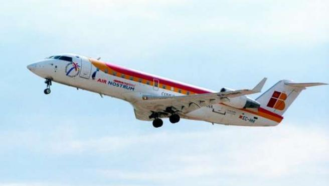 Un avión de Air Nostrum