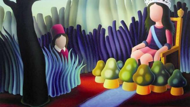 Una De Las Obras De Jordi Ribes, Que Expondrá Del Sol St. Gallery