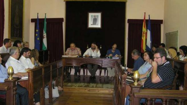 Pleno Del Ayuntamiento De Carmona.