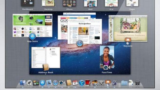 Lion, el nuevo sistema operativo de Apple.