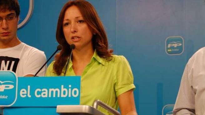 Patricia Navarro En Una Intervención