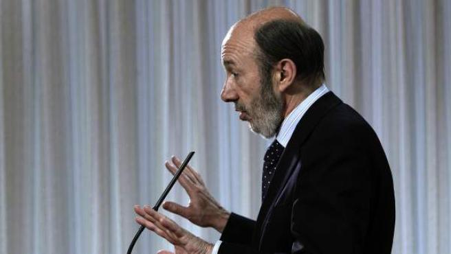 El candidato del PSOE a la presidencia del Gobierno, Alfredo Pérez Rubalcaba, en una imagen de archivo.