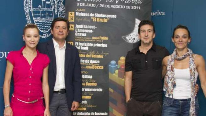 Presentación Del Espectáculo Del Ballet Nacional De Uruguay.
