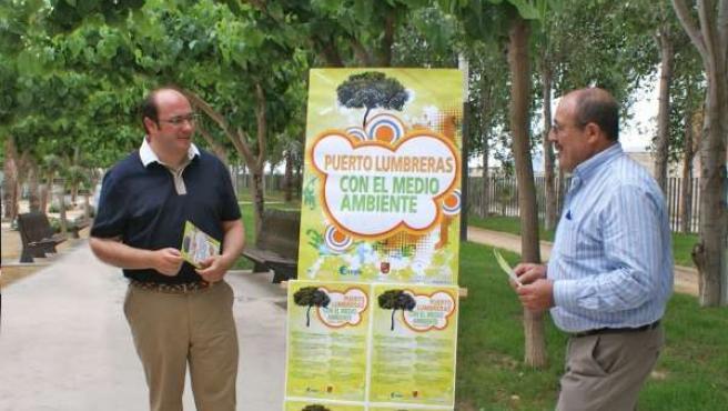 Pedro Antonio Sánchez Presenta Proyecto PARK En Puerto Lumbreras