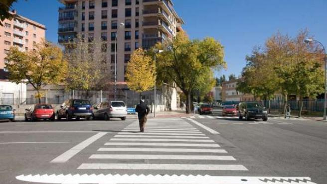 Campaña De Seguridad Vial En Pamplona.