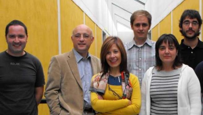 Miembros Del Grupo De Investigación De Genética Y Microbiología.