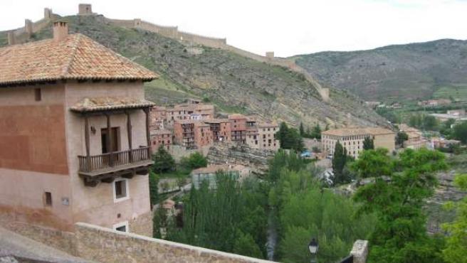 Una imagen de Albarracín (Teruel)