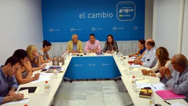 Reunión De Los Populares En Sevilla