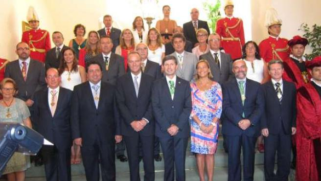 Alberto Fabra Y Los Miembros Del Pleno
