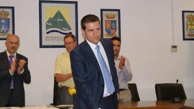 El Presidente De La Mancomunidad De Municipios Oriental-Axarquía, Oscar Medina