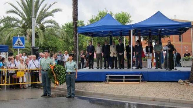 Homenaje A Guardias Civiles Asesinados Por ETA