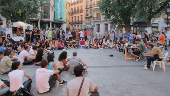 Movimiento 15M Plaza De Zocodover