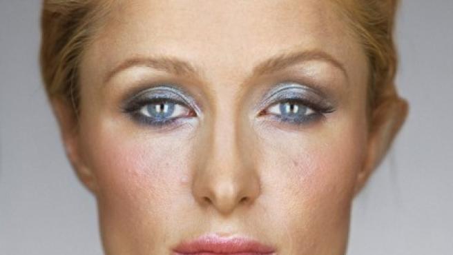 Martin Schoeller fotografía a Paris Hilton