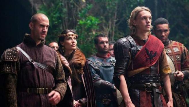 Un momento de 'Camelot', la nueva serie de Antena 3.