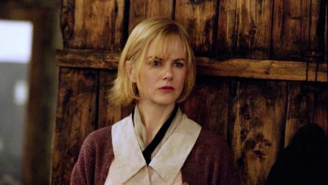 Fotograma de la película 'Dogville', del director Lars von Trier e interpretada por Nicole Kidman.