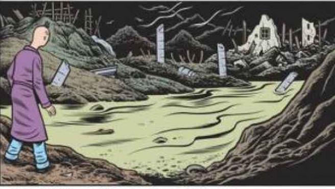 Charles Burns ha sorprendido con su nuevo cómic, 'Tóxico'.