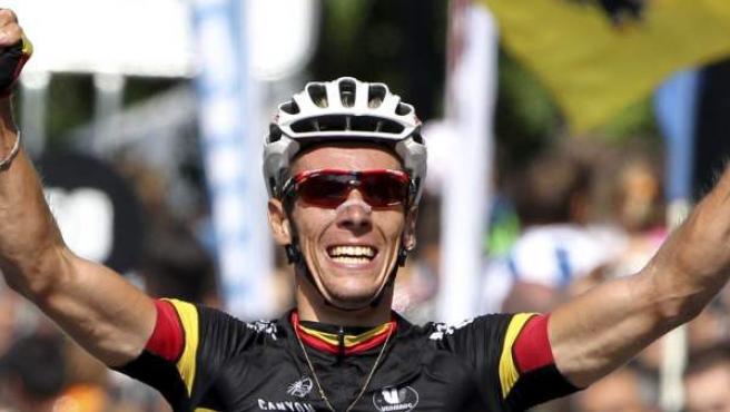 pe Gilbert gana la Clásica de San Sebastián.