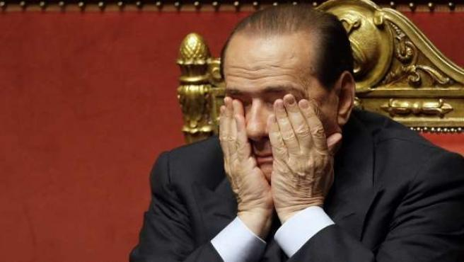 Foto de archivo de Silvio Berlusconi tomada en 2008.