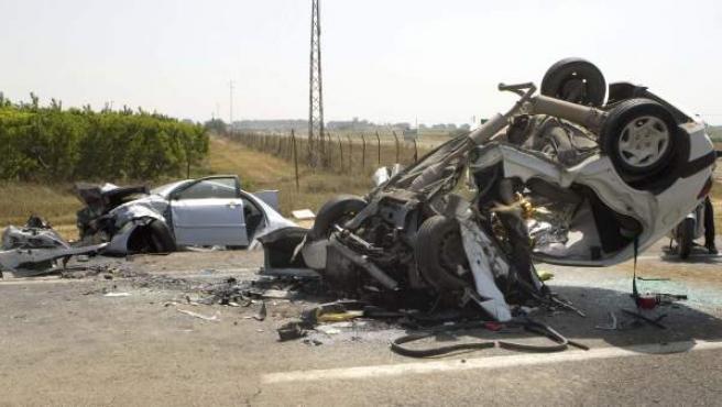 Accidente mortal en Los Palacios, Sevilla.