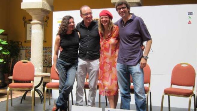 Chus Gutiérrez, Roberto Álvarez, Emma Suárez Y Norberto López