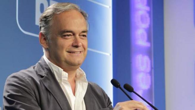 El vicesecretario de Comunicación del PP, Esteban González Pons.