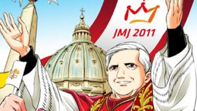 Portada de 'Habemus Papam!', el cómic sobre el Papa.