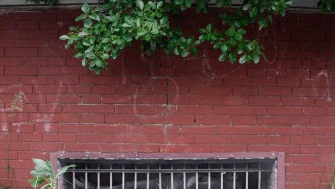 Una de las obras de Dan Witz en la Grand Central Parkway, una carretera de Nueva York