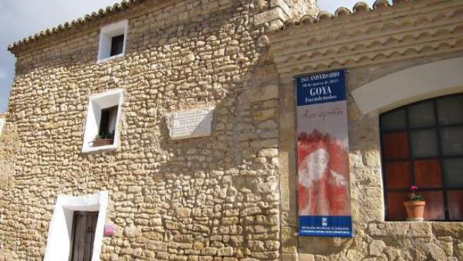 Casa Natal De Francisco De Goya En Fuendetodos (Zaragoza)