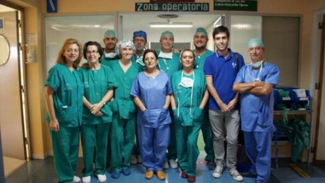 Equipo De Cirugía Solidaria Del Hospital Virgen Del Rocío De Sevilla